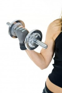 Weights pose